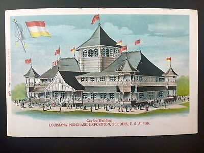US Louisiana Purchase Exposition (two cards) Missouri St Louis 1904