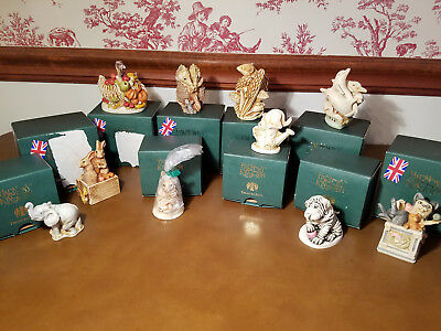 10 Harmony Kingdom TREASURE JESTS Retired NRFB Buy It Now or MAKE AN OFFER!  6