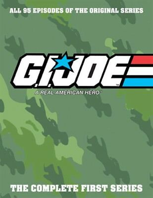GI JOE REAL AMERICAN HERO COMPLETE FIRST 1985 TV SERIES New DVD All 95 Episodes