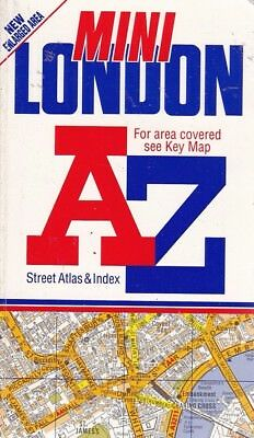 A. to Z. Mini London Street Atlas - Geographers' A-Z Map Company - Acceptable...