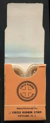 Kings Knight Prophylactics Box with condoms - vintage