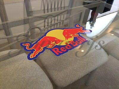 Red Bull Energy Drink Stickers Decal Sign Logo Pro F1 Athlete BMX Motocross