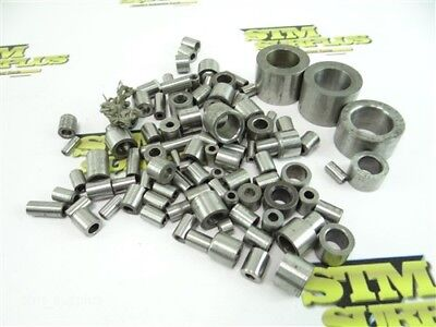 """Nice Assorted Lot Of Hardened Drill Bushings 3/32"""" To 53/64"""""""