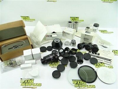 Big Assorted Lot Of Inspection Microscope Parts & Accessories Keyence