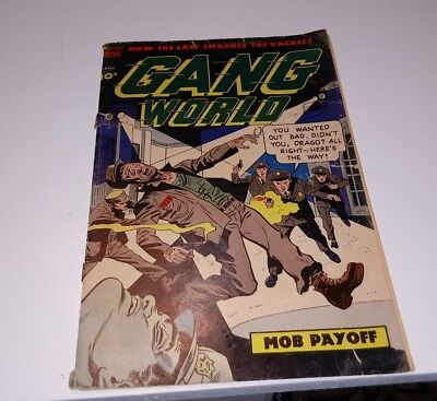 Gang World (1952) #5.5 FN, Hard to find, Last issue of the series