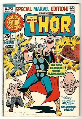 """Special Marvel Edition #2 (1971) VF/NM  Stan Lee - Jack Kirby  """"Thor"""""""