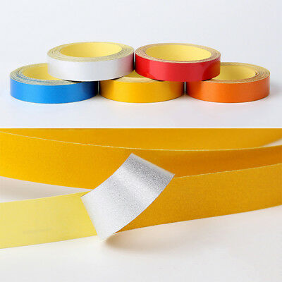 5M Reflective Stickers Bicycle Bike Car Reflector Security Wheel Rim Decal Tape