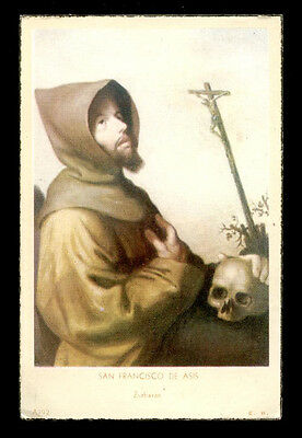 "santino-holy card""S.FRANCESCO D'ASSISI"