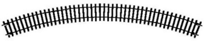 Hornby R607 Double Curve 2nd Radius Track (438mm) OO Gauge