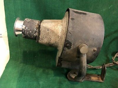Antique 'Century' Stage 'BEAM' Spot Light - Very Early & Working Great!