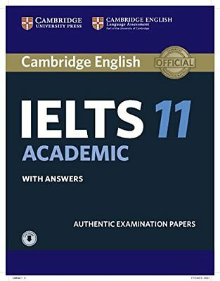 Cambridge IELTS 11 Academic Student's Book with Answers with Audio: Authentic Ex
