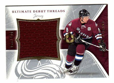 Wojtek Wolski Nhl 2005-06 Ultimate Collection Debut Threads Jersey (Avalanche)