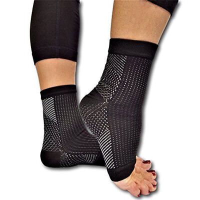 Compression Wear Foot Pro Relieves Plantar Fasciitis Heel Pain Sleeve Socks LC