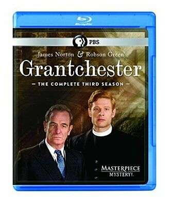 Masterpiece Mystery! Grantchester Season 3 Blu-ray NEW!