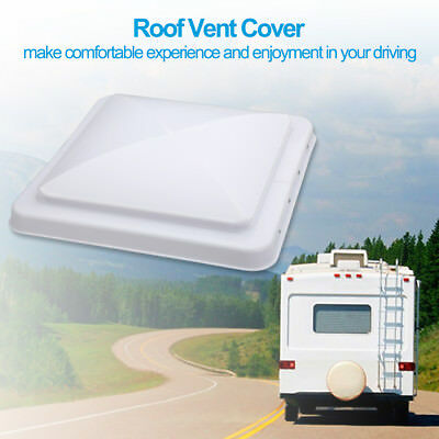 "Universal RV Roof Vent Cover Lid for Camper Trailer Motorhome 14""x 14"" US"