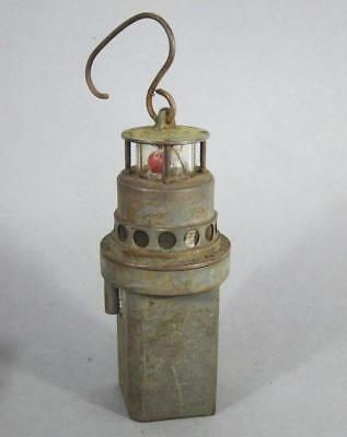 VINTAGE RINGROSE FIREDAMP GAS ALARM MINERS LAMP pit clanny davy lamp antique