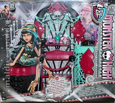 Monster High Licht aus Grusel an Möbel Grusel Party Möbel BDD91 NEU/OVP