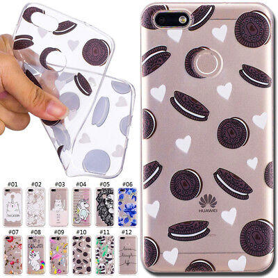 Gel Rubber Silicone Soft Cover Skin TPU Case Back For Huawei P9 Lite mini/Enjoy7