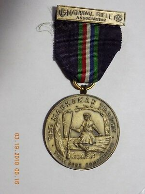 1925 NRA Medal - THE MARKSMAN TROPHY - SMALL BORE COMPETITION - WESTERN
