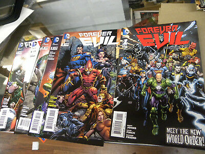 DC 2013 all 7 issues FOREVER EVIL 1 2 3 4 5 6 7 w extras reg $40 qq