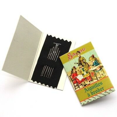 SAJOU French Assorted Embroidery Needles - Sewing lesson booklet