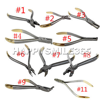 1PC Dental Orthodontic Crimpable Hook Placement/hard wire cutte Plier ALL SIZE