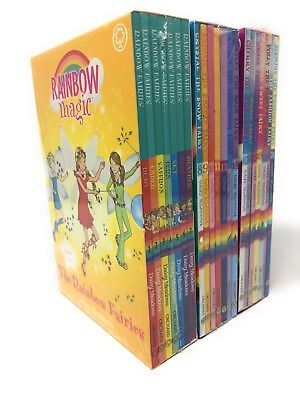 Rainbow Magic Series 1,2,3,Collection of 21 Books Set Rainbow, Weather, Party..