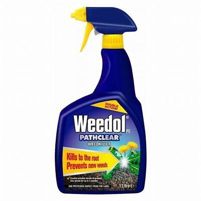 1L Weedol Fast Action garden Weed Root Killer Spray Ready to Use Path Weedkiller