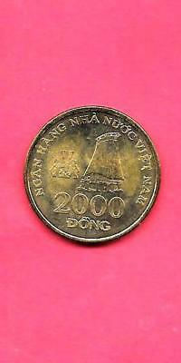 vietnam km75 2003 UNC-UNCIRCULATED MINT LARGE OLD 2000 dong coin