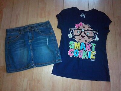 Justice Cookie & Arizona 2 Piece Girls Outfit Size 10