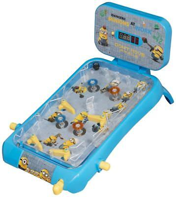 Despicable Me Minions Large Super Pinball Kids Childrens Flipper Playset Toy