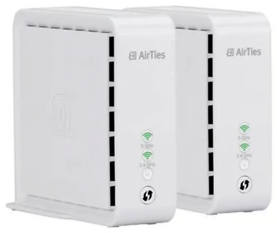 Telekom Airties Air 4920 Wifi Starter Kit Mesh WLAN-System 2er Set