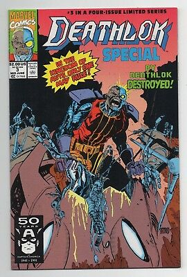 Marvel Comics Deathlok Special #3 Copper Age Four-Issue Limited Series