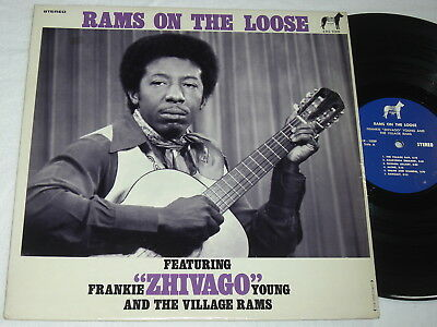 """Lp Frankie """"zhivago"""" Young & The Village Rams - Rams On The Loose Org Soul Mint"""