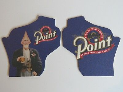 Beer Collectible Bar Coaster <> STEVENS POINT Brewery Since 1857 ~*~ WISCONSIN