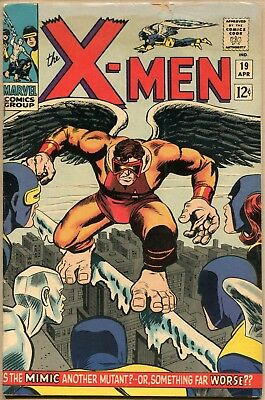 X-Men #19 - VG/FN - 1st Appearance Of The Mimic