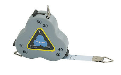 Triangular Scale Tape Cb02 Three-Sided Measure Engineer