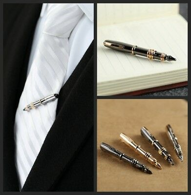 Vintage Tie Bar Brooch Lapel Pins Collar Button Modelling Of The Pen Breastpin