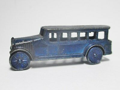 """1-3/4"""" Die Cast Tootsietoy? Cracker Jack? Fageol Style Bus--Nice--Ships Free!"""