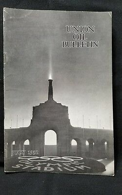 Union Oil Bulletin Employee Vtg Aviation and Automobile 76 Rare July 1932