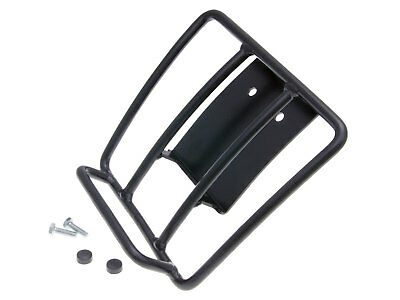 Luggage Rack 70s Classic in Black For PIAGGIO VESPA GT GTS 125-300ccm