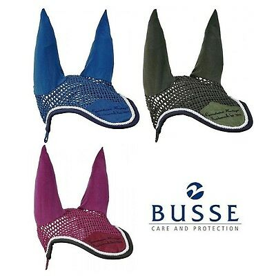 Busse Trentino Toskana Fly Veil Ear Bonnet Pure Cotton with Stretch Lycra Ears
