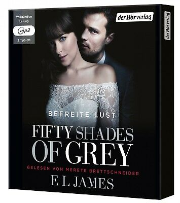 Fifty Shades Of Grey - Befreite Lust (3/mp3) (Sa) Band 3 2 Mp3 Cd Neuf