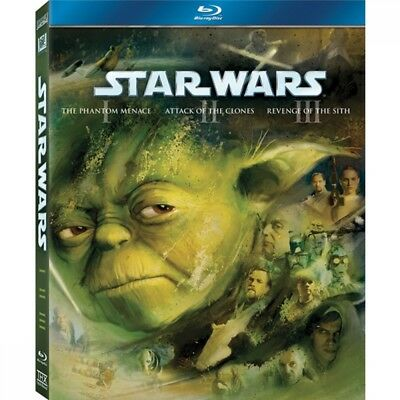 Star Wars: The Prequel Trilogy (Episodes I, II & III) Blu-ray