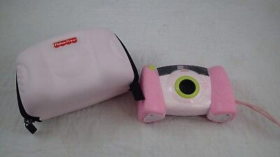 Fisher Price Kid-Tough Pink DIGITAL Camera 2-Eye View, Camera Case