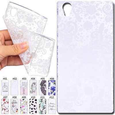 Shockproof Soft Back Case TPU Silicone Protective Skin Cover For Sony Xperia L1
