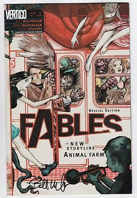 Fables #6 Vertigo Willingham Signed RRP James Jean Wrap Variant
