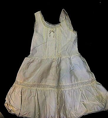 Human Baby Doll Victorian Dress Clothes Christening Reborn Baptism Gown Craft