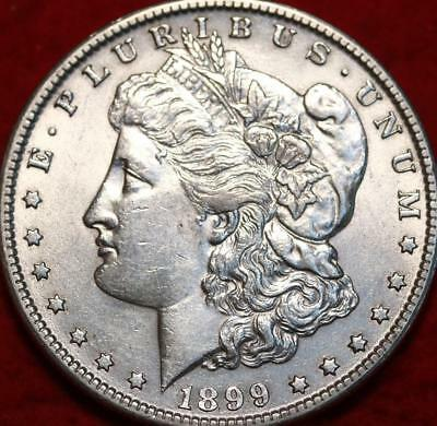 Uncirculated 1899-O New Orleans Mint Morgan Dollar