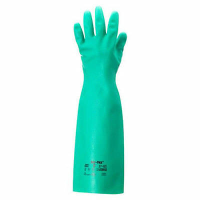 Ansell Edmont 37-185 size 10 Sol-Vex Unsupported Nitrile Gloves 1 Pair - NEW